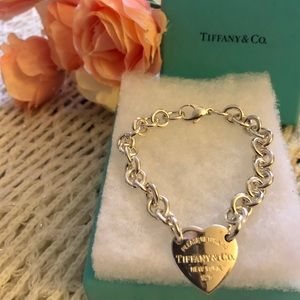 TIffany and Co. Heart Tag  Bracelet